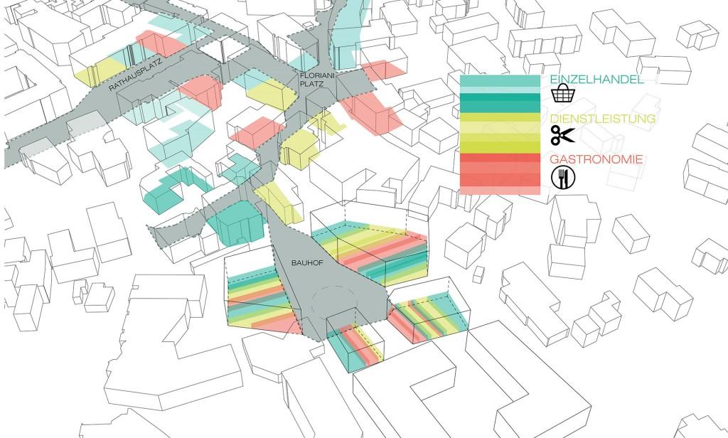 Mahore architects masterplan saalfelden for Floor function definition